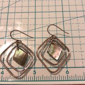 Sterling silver dangle earrings 🦋